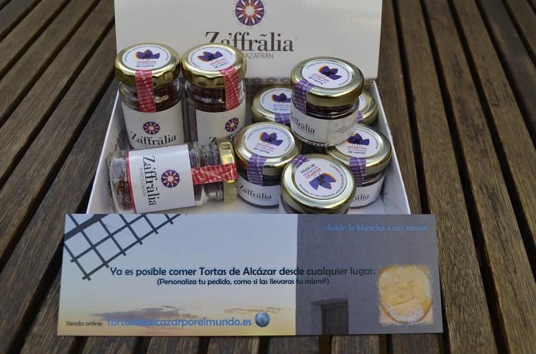 """Azafran de La Mancha """"Zaffralia"""" tarros de 1 y 2 gramos"""